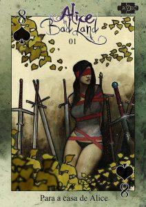 Alice in Badland 1 Oito de Espadas Capa